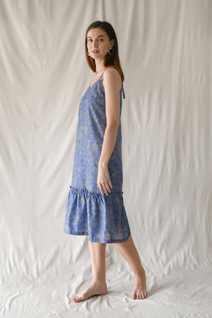Prints Claudia Dress / Indigo Dazzle