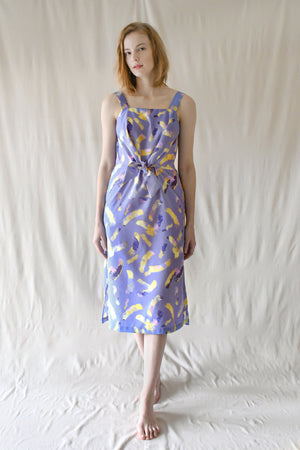Lydia Maxi Dress / Lilac Yellow