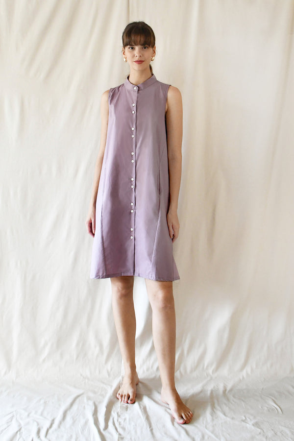 Tent Swing Dress / Lavender