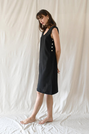 Thea Dress / Black Ink