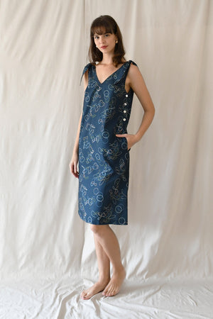 Prints Thea Dress / Multi Loops