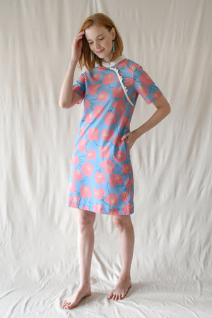 Prints Carina Dress / Bluebell