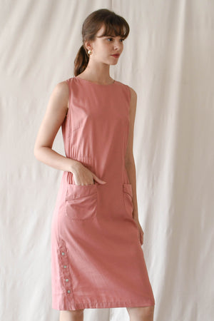 Tabitha Dress / Bubblegum