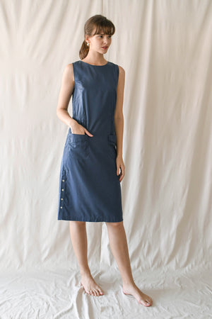Tabitha Dress / Lake Blue