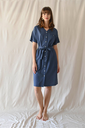 Sonia Dress / Lake Blue