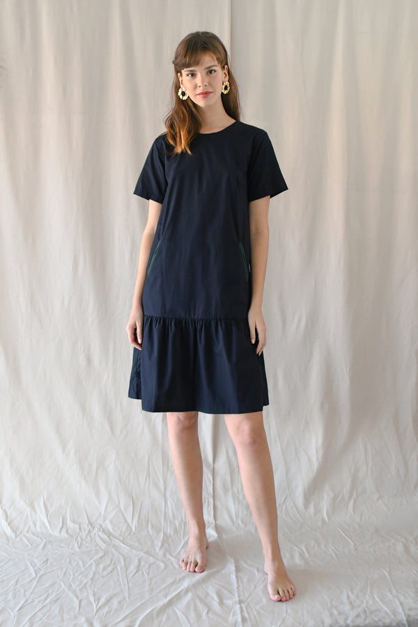 Eleanor Dress / Navy