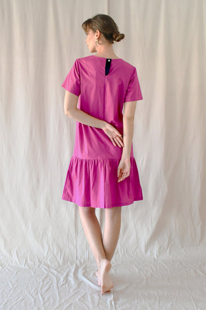 Eleanor Dress/ Magenta