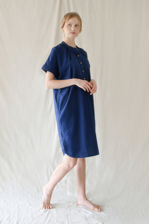 Lauren Dress / Indigo