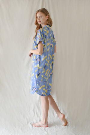 Prints Lauren Dress / Lilac Yellow