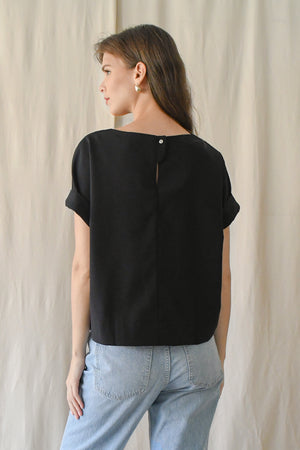 Canvas Top/ Jet Black