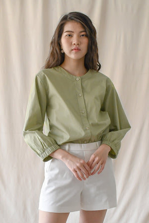 Sue Shirt / Pistachio