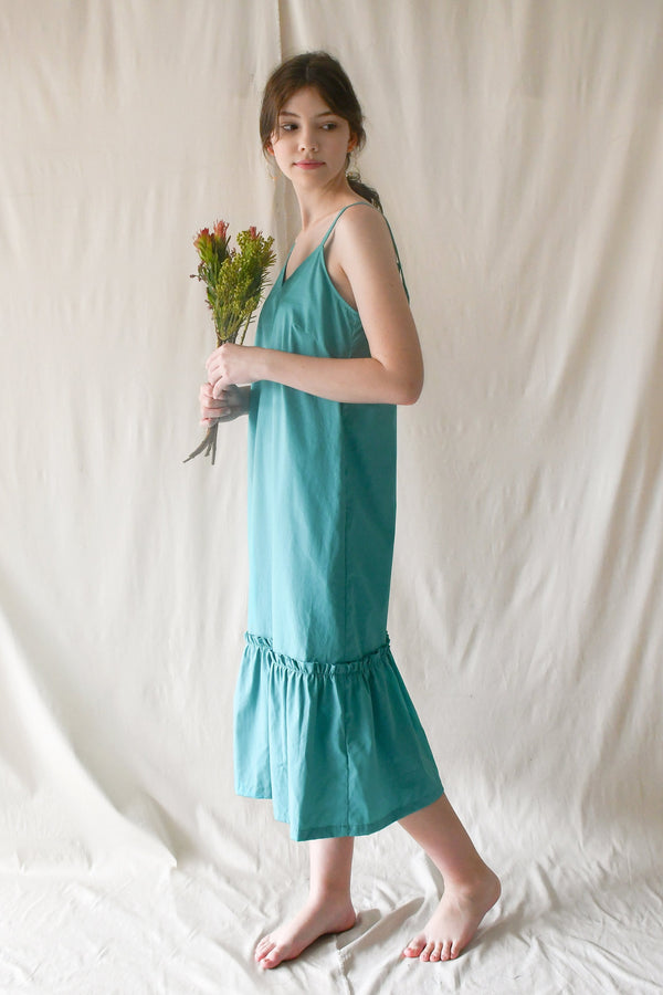 Claudia Dress / Turquoise
