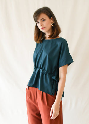 Constance Blouse / Teal