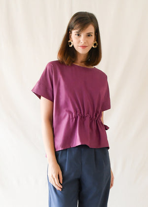 Constance Blouse / Magenta