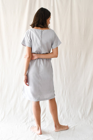 Penelope Dress / Light Grey