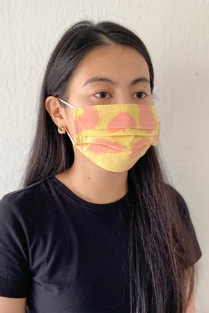 Reusable Face Mask / Yellow Fruits