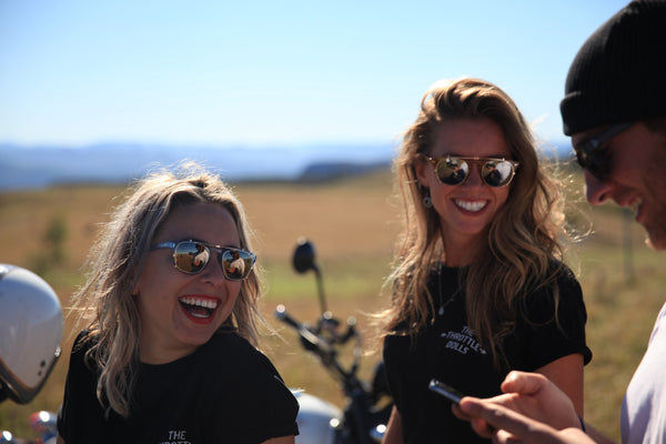 SPRING ADVENTURES WITH THE THROTTLE DOLLS