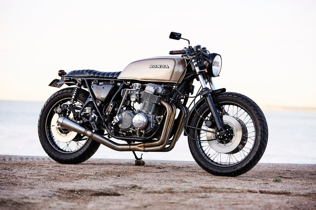 Pacifico Optical Bondi Beach Cafe Racers Haywire Cycles Honda CB750