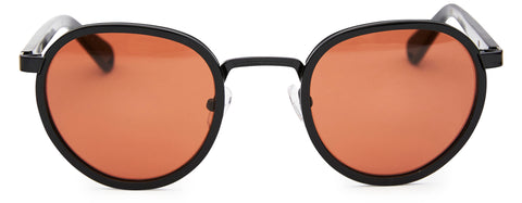 Pacifico Optical Carter Gloss Black with Copper Lens