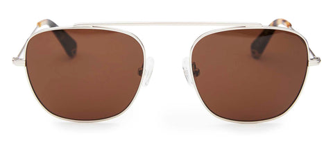Pacifico Optical South Silver with Brown Lens