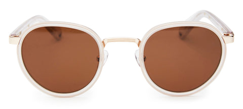 Pacifico Optical Carter Matte Crystal Brown Polarised Lens
