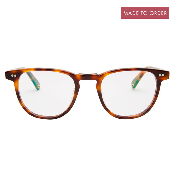 Campbell - Choc Havana with Blue Light Lenses