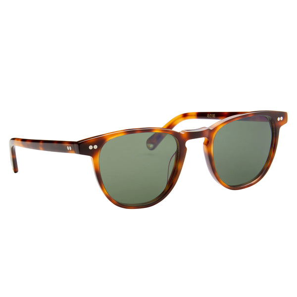Campbell - Chocolate Havana with Green Lenses