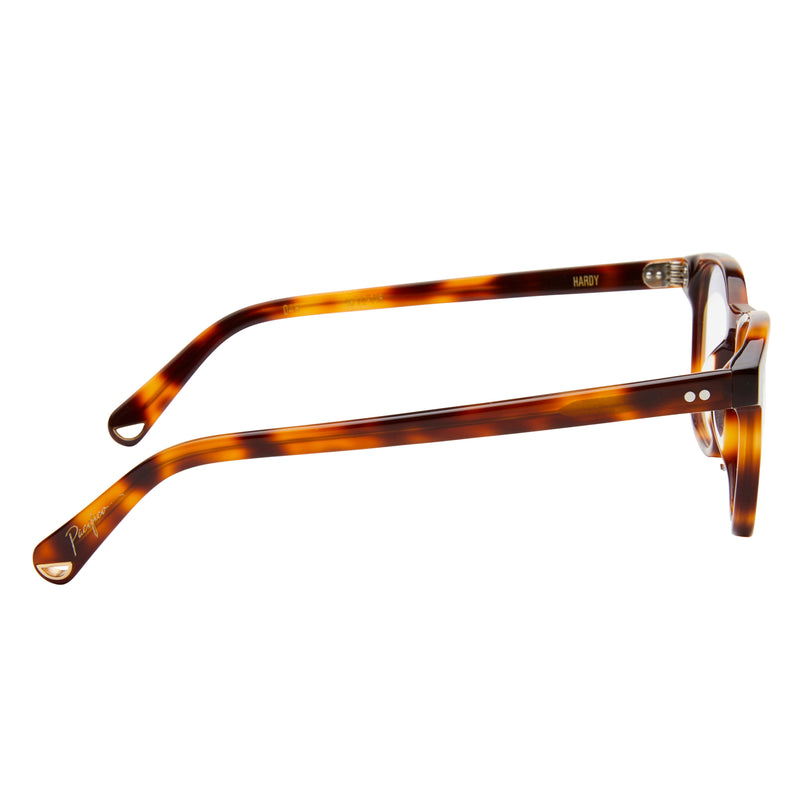 Hardy - Choc Havana with Blue Light Lenses