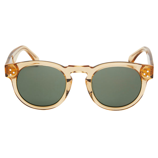 Lola - Champagne / Green lens