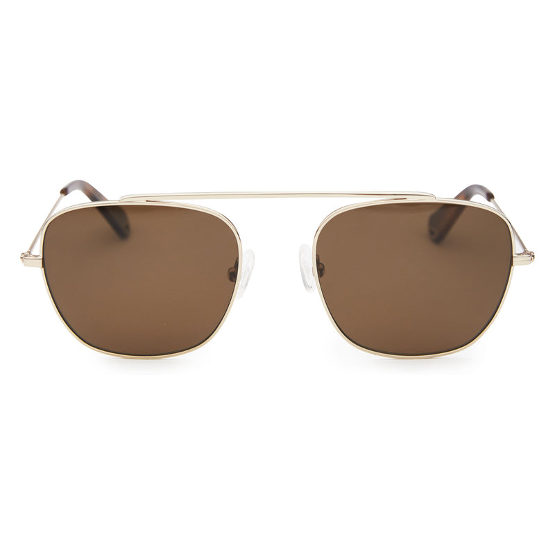 South - Rose Gold with POLARISED Brown Lens