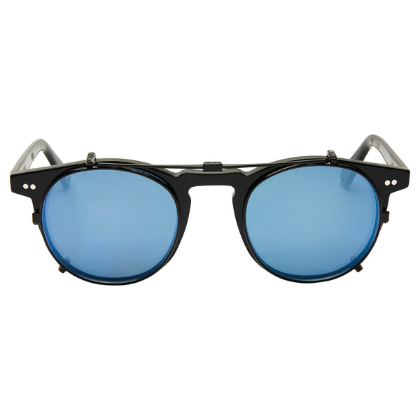 Clip-On lens: Black with Blue Mirror - Buckler & Carter Fit
