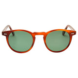 Buckler - Whiskey Havana with Green Lens
