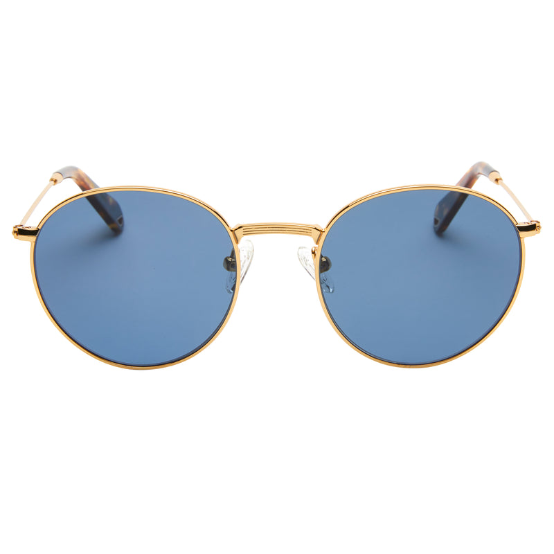 Dover - Vintage Gold with Polarised Aqua lens