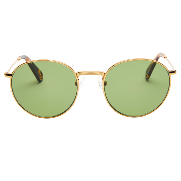 Dover - Vintage Gold with Green Lens