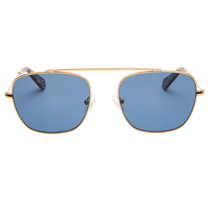 South 2 - Vintage Gold with Polarised Aqua lens