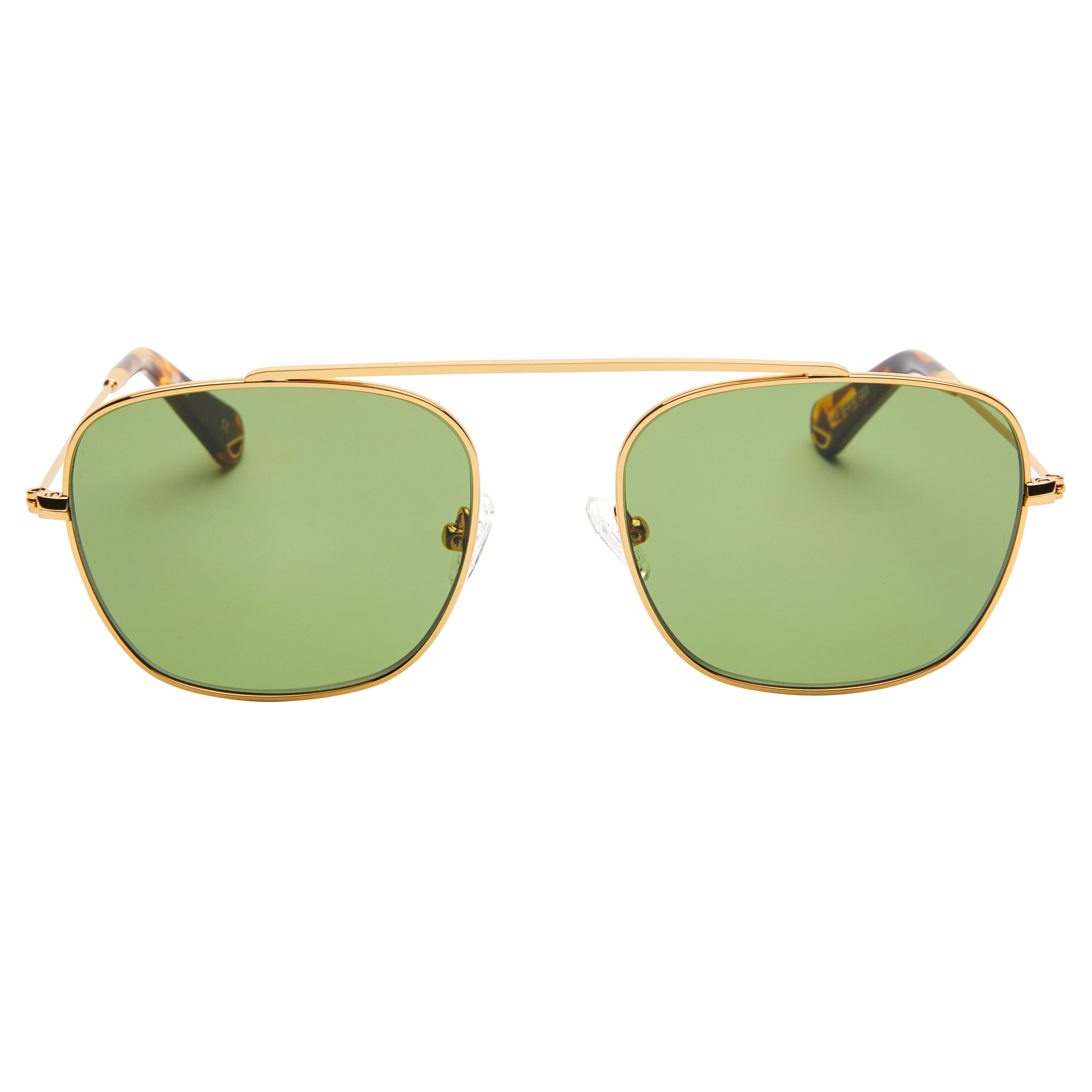 88a08e4031 South 2 - Vintage Gold with Green lens - Pacifico Optical