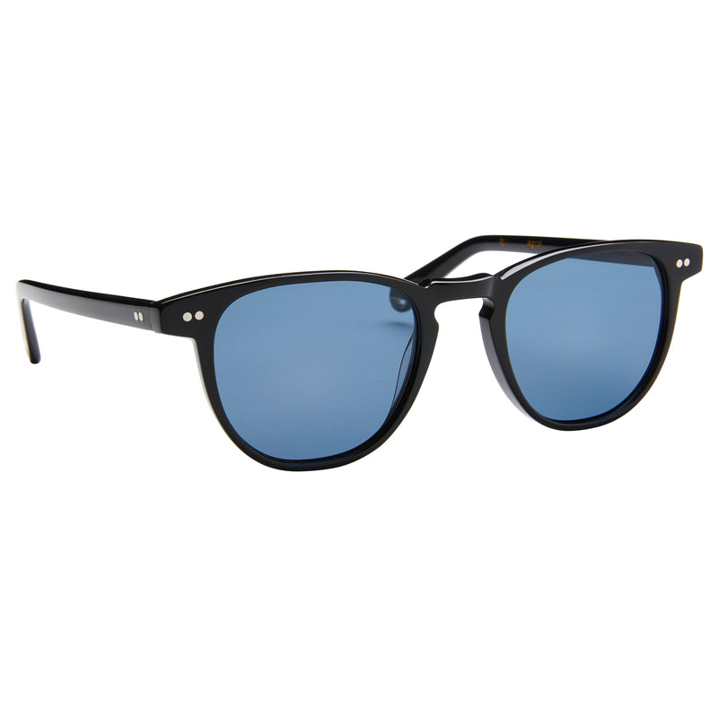 Campbell - Black with Polarised Blue Lens