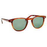 Campbell - Whiskey Havana with Polarised Green Lens