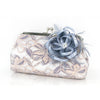 Something Blue Lace Clutch with Satin Fascinator | REVERIE