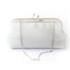 Shimmery Silver Clutch Bag