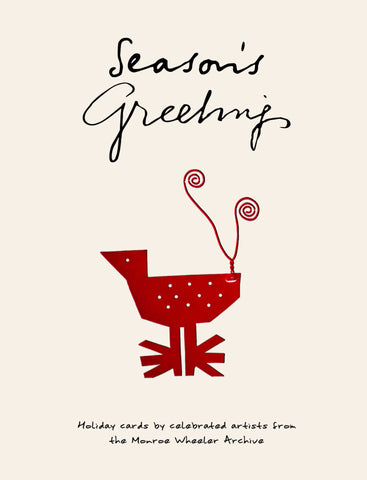 season s greetings holiday cards by celebrated artists from the