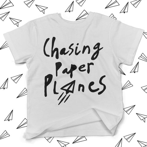 Chasing Paper Planes T-shirt White