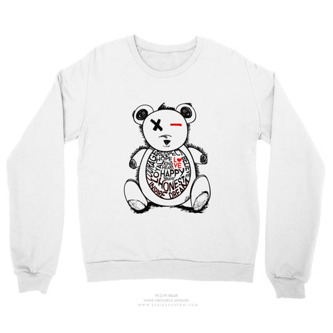 Adult Sweater - W.O.W Bear