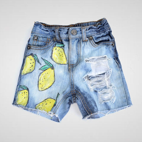 Made To Order New - Lemon Drops Shorties (Boy + Girl)