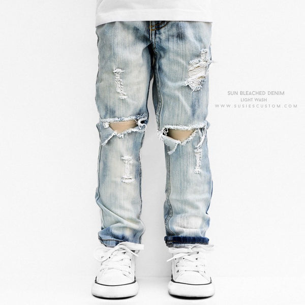Made To Order New - Sun Bleached Denim (Unisex)