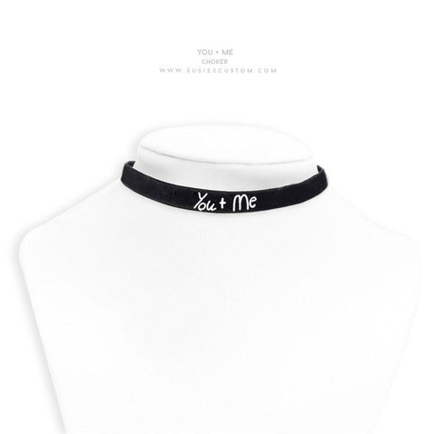TC Choker - You + Me Choker