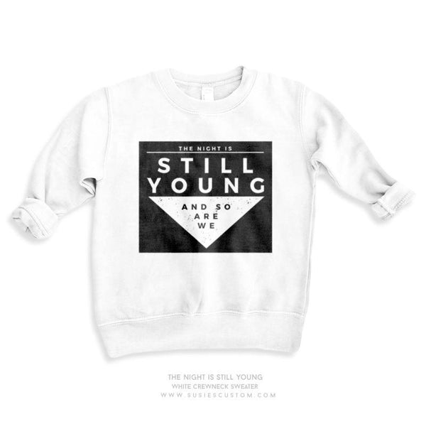 Wholesale - Kid Sweater - Night Is Still Young