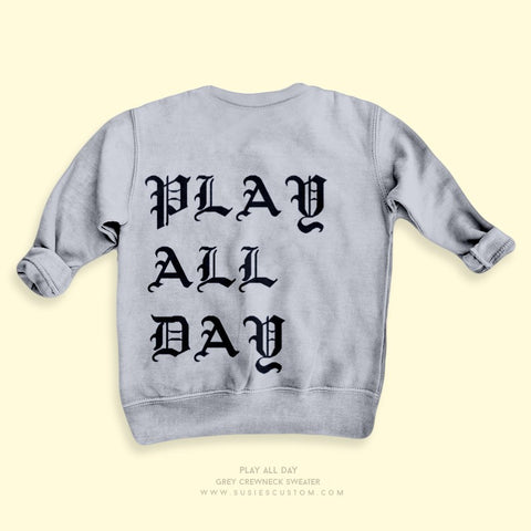 Wholesale - Kid Sweater - Play All Day