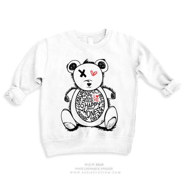 Wholesale - Kid Sweater - W.O.W Bear