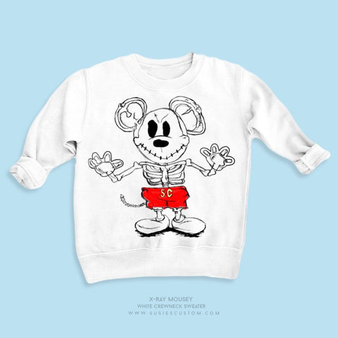 Wholesale - Kid Sweater - X-Ray Mouse